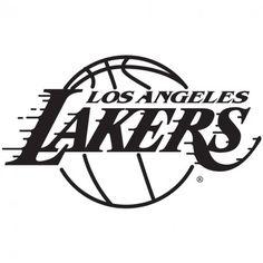Los Angeles Lakers Logo Black