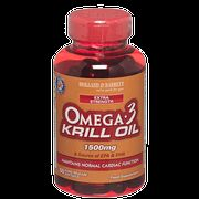 Holland & Barrett Extra Strength Omega 3 Krill Oil Softgel Capsules 1500mg