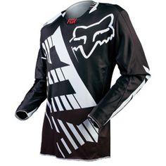 The Fox Racing 360 Savant Airline motocross black Jersey Atv Riding Gear, Dirt Bike Gear, Motocross Gear, Dirt Biking, Dirt Bike Clothing, Fox Racing Logo, Mx Racing, Mx Jersey, Fox Man