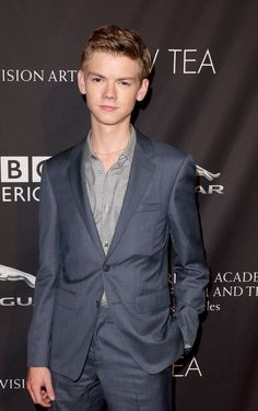 Thomas-Brodie Sangster at the BAFTA Los Angeles TV at SLS Hotel (Beverly Hills, California) in 2014.