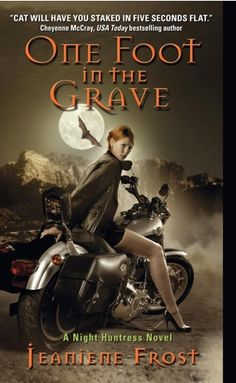 Jeaniene Frost- I am LOVING this series on audiobook. Bones beats those current sissy vampires fangs down! :-))