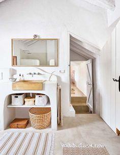 Mueble para el lavabo de obra