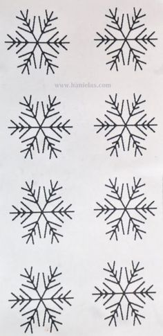 Beautiful Royal Icing Piping Patterns intended for Simple Snowflake Template For Royal Icing Snowflakes Piping Templates, Royal Icing Templates, Royal Icing Transfers, Cake Templates, Piping Patterns, Cake Decorating Techniques, Cake Decorating Tutorials, Cookie Decorating, Royal Icing Decorations