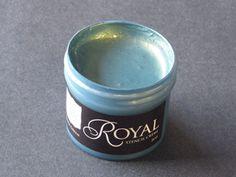 Product Love - Patina green metallic paint.   So nice!