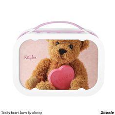 Teddy bear i luv u