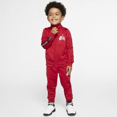 The Jordan Jumpman Classics Set serves up athletics-inspired style in a jacket and trousers made from soft, smooth woven tricot fabric and bold logo taping that adds to the athletic look. Jordan Boys, Tricot Fabric, Bold Logo, Athletic Looks, Jordan Outfits, Nike, Trousers, Pants, Simple Dresses