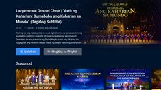 Christian Films, Tagalog, Google Play, Music Videos, Channel, App, Reading, Words, Word Of God