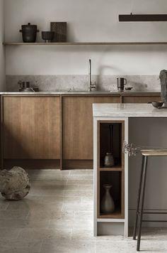 Modern Kitchen Interior Remodeling Is the All-White Kitchen Trend Finally Over? Modern Kitchen Design, Interior Design Kitchen, Kitchen Decor, Kitchen Ideas, Modern Interior, Diy Kitchen, Kitchen Wood, Modern Decor, Chef Kitchen