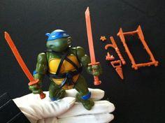 Leonardo Soft Head Teenage Mutant Ninja Turtles TMNT Figure 1988 on Etsy, $15.00