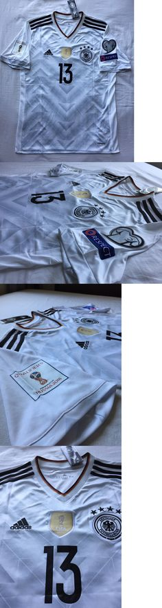 Soccer-National Teams 2891: Thomas Muller #13 Adidas Germany 2016 17 Home Jersey World Cup Patches Mens L -> BUY IT NOW ONLY: $59.99 on eBay!