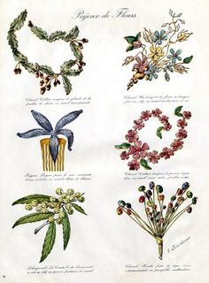 Chanel (Jewels) 1938 Necklaces & Clips Flowers