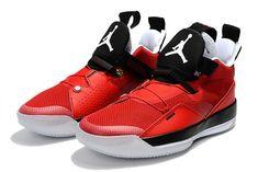 2dd60e59c52d63 2019 Air Jordan 33 CNY University Red Black-White For Sale-3 Jordan Shoes