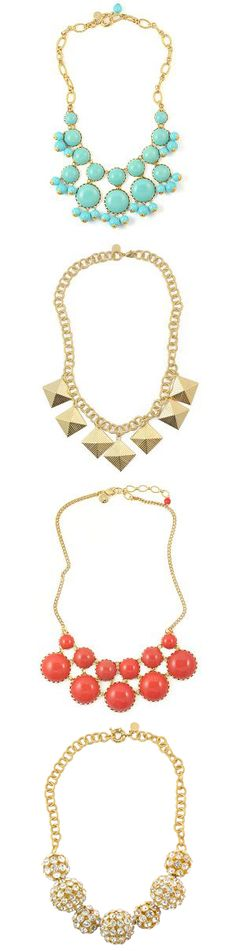 Loren Hope Statement Necklaces. Dying to have a necklace similar to the top one!!