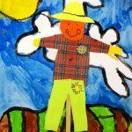 scarecrow art project