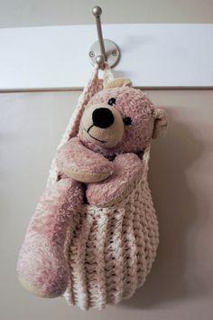 Hanging+Storage+Pouch++Crochet