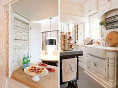 Bungalow Makeover | ReStyle Source  Love the column