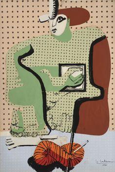 Femme Lisant - Le Corbusier, 1936