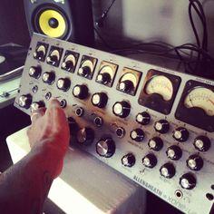 Jamie Jones' new Allen & Heath Xone V6 hand made mixer. It seems wonderful and very solid.