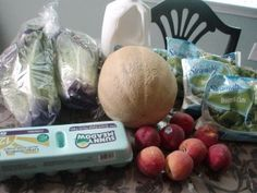 Brigette's Grocery Shopping Trip and Weekly Menu Plan for 6