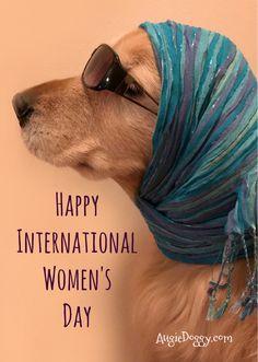 March 8, International Women's Day!