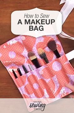 How to Sew a Make Up Bag