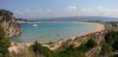 La spiaggia di Voidokilia