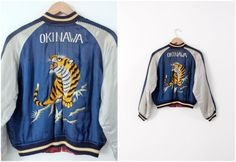 Japanese souvenir jacket vintage Suka-Japanese tour by 86Vintage86