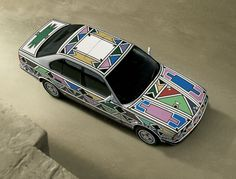 1991 BMW The Art Car was the first to have been signed by a woman. This is not the only fact that makes this BMW so special. The South African artist Esther Mahlangu coated the bodyw… Bmw 525i, Bmw E34, Car Head, Bmw Autos, South African Artists, Traditional Paintings, Art Cars, Art Museum, Art Projects