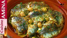 أروع طاجين السردين بالخضرجد شهي بشرمولة رائعة  و لذيذة - مطبخ أمينة المراكشية - YouTube