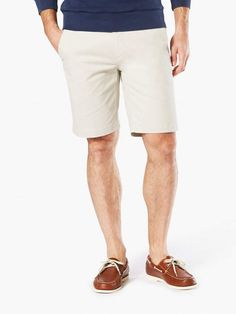 Downtime Khaki Short With Smart 360 Flex #times#thousand#chill