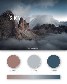 Flat Color Palette, Website Color Palette, Colour Pallette, Pantone Colour Palettes, Color Schemes Colour Palettes, Pantone Color, Claves Wifi, Gradient Color, Sky Colour