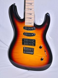 Kramer Striker 211 Electric Guitar - Fireburst - Indian Creek Guitars