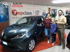 Claudia torna a Cesena con la rinnovata #Toyota #Aygo X-play per la super mamma Bianca. Complimenti e buon viaggio!