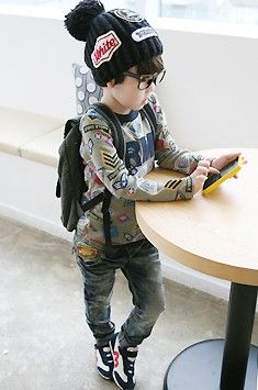 little hipster kid. I am so serious