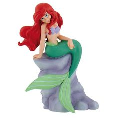 The Little Mermaid's Ariel cake topper decoration is perfect for any Sea/Mermaid themed celebration cake! To view this product, please visit http://www.craftcompany.co.uk/disney-princess-ariel-mermaid-cake-topper-decoration.html