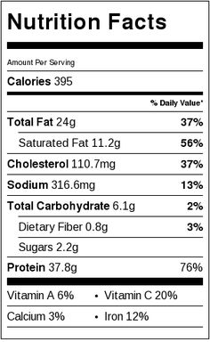 coconut lime chicken nutrition facts