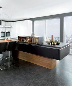Cuisine design glamour vertica prestigieuse for Conception cuisine schmidt