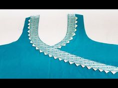 In this video I will teach you how to make Stylish Front Neck Designs (Angrakha Style) Cutting and Stitching in very simple way. My Second Channel: https:. Chudi Neck Designs, Salwar Neck Designs, Kurta Neck Design, Sleeve Designs, Blouse Designs, Churidar, Anarkali, Angrakha Style, Children Dress