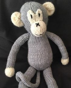 Also known as amigurumi, knitted toys are unique in that they hold a lot of charm to them, much more than a store-bought toy. This Knit Monkey Toy is a replacement for any monkey toy on the market today, although it is an advanced knitting pattern.