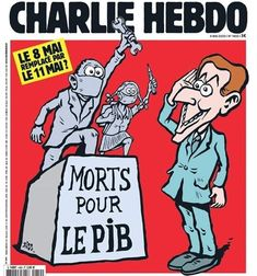 Le 8 Mai, Charlie Hebdo, Comic Books, Comics, Cover, Type 3, Journal, Facebook, Red