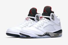 outlet store 27553 3ae0c Nike Air Jordan 5 Retro University Shoes - Size Red Black for sale online