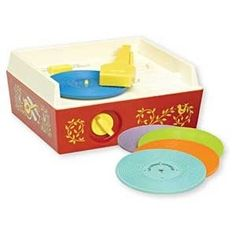 Fisher Price Record Player. Was just talking about this I loved mine