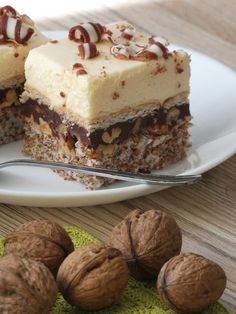 Cream Cheese Flan, Burger Bread, Vegan Junk Food, Milk Cake, Vegan Kitchen, Polish Recipes, Vegan Sweets, Homemade Cakes, Sweet Recipes