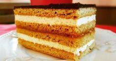 Így készül nagymamáink kedvence, a tökéletes mézes krémes | Femcafe Vanilla Cake, Tiramisu, Cake Recipes, Deserts, Food And Drink, Ethnic Recipes, Drinks, Foods, Cakes