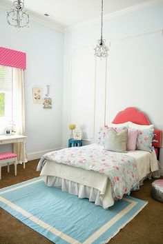 The Family Room: My Home: Little Miss J's Pink & Blue Bedroom