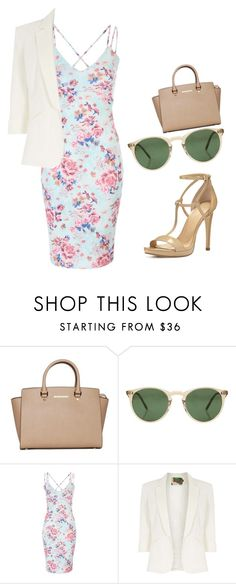 """Untitled #476"" by samson-90 on Polyvore featuring MICHAEL Michael Kors, Oliver Peoples and Jolie Moi"