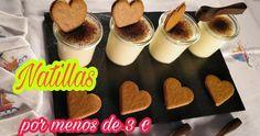 Prepara natillas en el microondas ¡por menos de 3 euros! Cereal, Pudding, Breakfast, Diabetes, Desserts, Food, Custard, Easy Desserts, Beverage