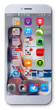 SexyGirl iOS 8 UI Lollipop V2