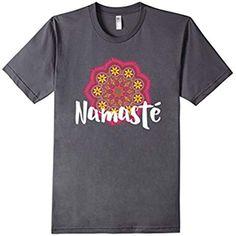 Namaste T-Shirt Store on Amazon.  Very cute yoga shirts