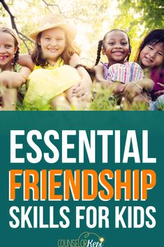 Teach Kids Friendship Skills: 8 Essential Friendship Skills for Kids Teaching Friendship, Friendship Lessons, Friendship Activities, Feelings Activities, Kindness Activities, Counseling Activities, Friendship Group, Group Counseling, Group Activities